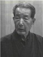 Maître Otake Risuke qui s'entraîne depuis plus de 70 ans